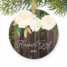 flower girl christmas ornament flower girl christmas ornament 2017 will you be my