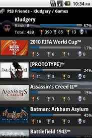 playstation 3 apk ps3 freinds psn android apps apk 1628596 mobile9