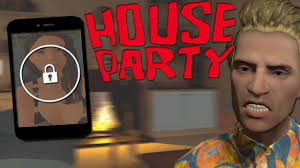 house party game trying to unlock her phone perfect distraction house party