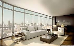 Relaxing Home Decor Interior Beautiful Apartement Interior Design With White Sofa