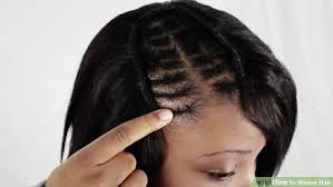 hair weave styles 2013 no edges how to weave hair with pictures wikihow