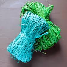 colored raffia my wrap stash coloured raffia gift co