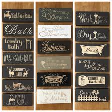 decor signs bathroom signs bathroom decor wooden signs powder room