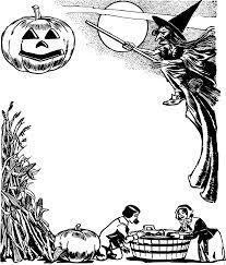 png halloween clipart classic halloween frame