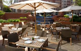 the united nations dining room and rooftop patio dining outdoors in washington dc a neighborhood guide