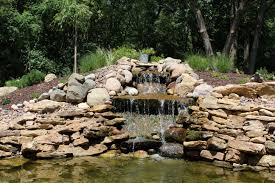 koi pond and waterfall celtic landscaping