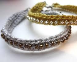 bracelet crochet beads images Best 25 crochet beaded bracelets ideas diy jpg