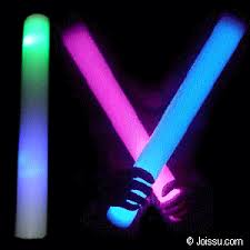 led foam glow baton sticks light up wholesale bulk pricing joissu