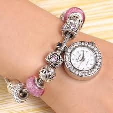 beaded bracelet watches images Watches 2017 women beaded bracelet luxury watch women fashion jpg