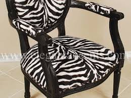 Zebra Accent Chair Furniture Armen Living Elegant Accent Chair With Flaired Chairs