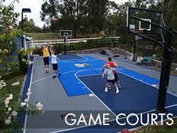 backyard basketball court flooring sport court builders of austin sport court of austin