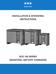 exide technologies scr100 charger user manual 38 pages