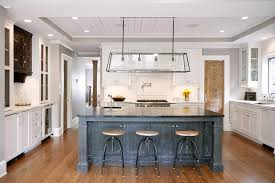 oak kitchen island gray oak kitchen island with soapstone countertops transitional
