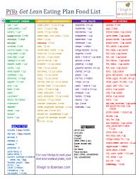 printable weight loss diet chart review piyo meal plan diet for weight loss with printables weight