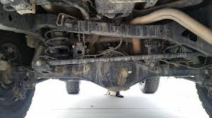 car rear suspension rear alignment issue bent axle help toyota fj cruiser forum