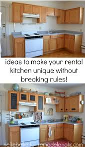 Decorating Rental Homes by Small Kitchen Decorating Ideas For Apartment