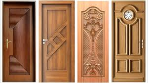 Wood Design Door Image
