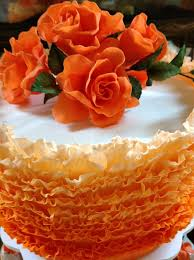 stunning frilled wedding cake florabunda u0026 cakeflorabunda u0026 cake
