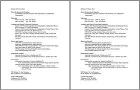 c v how to write a cv 18 professional cv templates exles