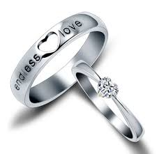 cheap his and hers wedding bands wedding rings for him and sterling silver his and