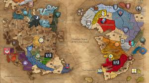 War World 2 Map by News Total War Warhammer Ii Campaign Map Revealed First