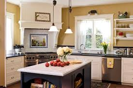 country kitchen designs with islands country kitchen island houzz