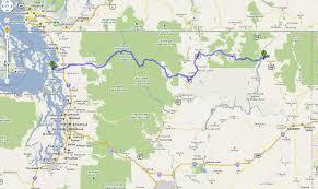 Map Of Leavenworth Wa Kettle Falls Washington Map