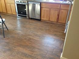 Wood Floor In Kitchen by Shop Congoleum 12 Ft W Aspen Oak Wood Low Gloss Finish Sheet Vinyl