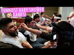 Funny Baby Shower Games For Guys - funniest baby shower games youtube