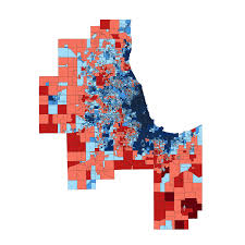 chicago voting map dividing lines special report democratic republican voters