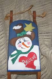 106 best crafts sleds images on pinterest christmas crafts