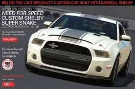 mustang shelby modified last car built with carroll shelby finally going up for auction