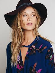 free people womens electric orchid print swing tunic in blue lyst