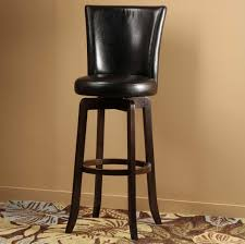 bar stools wood and leather decorative fascinating barstool chairs 9 brown wrought iron frame