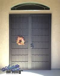 French Security Doors - security screen doors for double entry patio arcadia or french