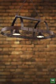 oil rubbed bronze pot rack with lights patriot lighting patrick pot rack island light with oil rubbed