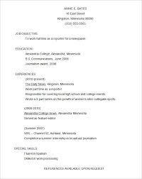 Resume Template For Internship Functional Resume Template U2013 15 Free Samples Examples Format