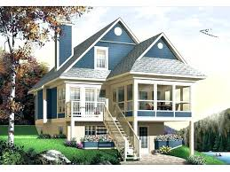 lake house plans for narrow lots home plans for small lots listcleanupt com