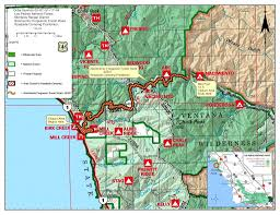Map It Usa by Highway 1 Conditions In Big Sur California