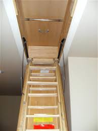 decors pull down attic stairs attic pull down stairs perfect
