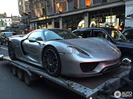 gold porsche 918 porsche 918 spyder 30 july 2014 autogespot