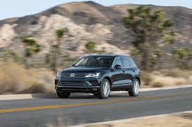 volkswagen suv 2015 2015 volkswagen touareg refresh debuts for u s in l a
