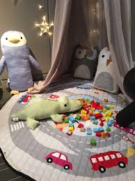 aliexpress com buy kids rugs baby play mats toys storage bag