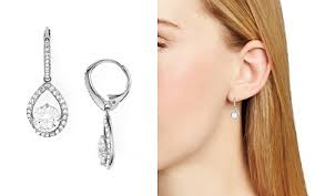 diamond teardrop earrings teardrop earrings bloomingdale s