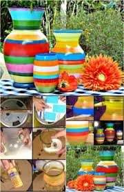 How To Paint A Vase Diy Painted Vase Diy Painted Vases Painted Vases And Creative