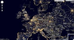 Light Polution Map Google Maps Mashup Displaying Global Light Pollution Maps