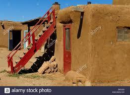 adobe house in taos pueblo new mexico stock photo royalty free