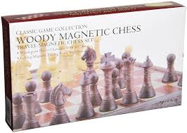 amazon chess set amazon com woody magnetic travel chess set toys u0026 games