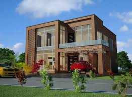 modern house design by muhammad majid associates 10 marla house