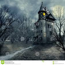 scary house clipart haunted house royalty free stock image image 18221876